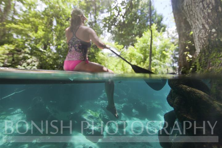 Split Shot, Underwater Photography, SUP, Stand Up Paddle Boarding, Bonish Photography, Cindy Bonish