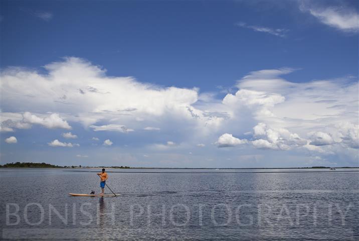Stand Up Paddle Boarding, SUP, Bonish Photography