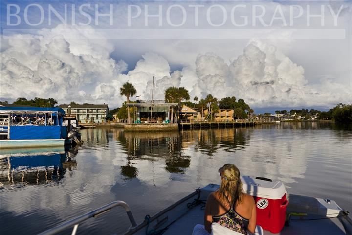 Storm, Storm Clouds, Florida Storms, Bonish Photography, Boating, Crystal River