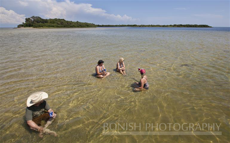 Sandbar, Cindy Bonish, Cedar Key, Florida, Bonish Photography