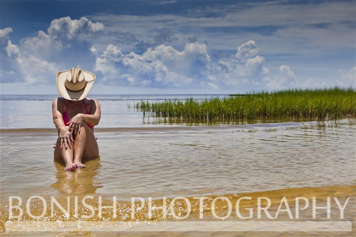 Cowgirl, Bikini, Naked, Cedar Key, Bonish Photography