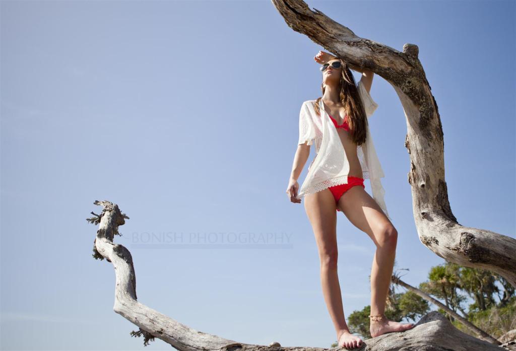Chloe Reynolds, Modeling, Bonish Photography, Cedar Key