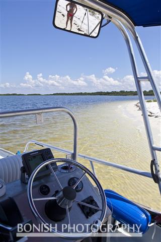 Boating, Beach, Bikini, Bonish Photography, Island, North Key