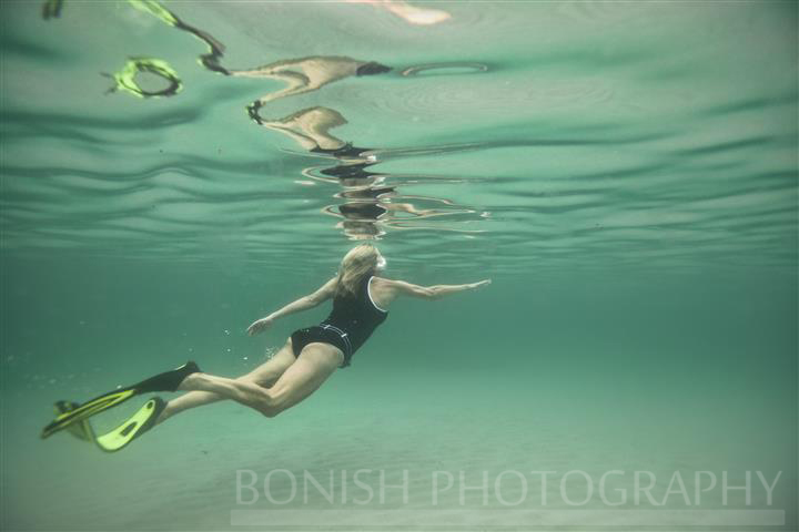 Swimming, Underwater Photography, Bonish Photo