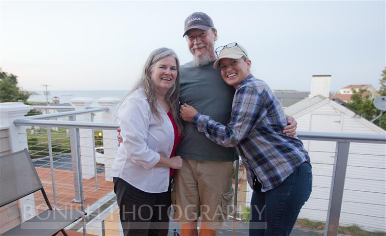 Bruce and Lindsey Roberts, Cindy Bonish