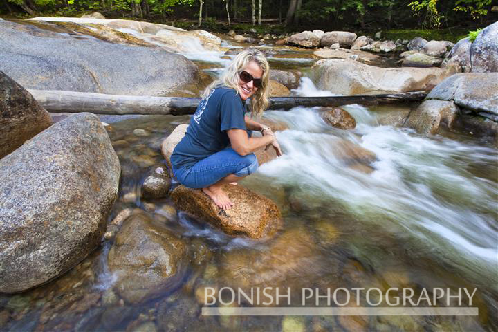 Cindy Bonish, New Hampshire, Mountain Stream, Bonish Photo