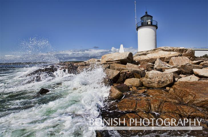 Goat island Lighthouse, Maine, Cape Porpoise, Bonish Photo
