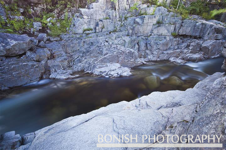 Flowing Water, Bonish Photo, New Hampshire