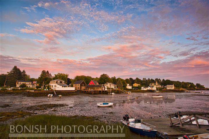 Cape Porpoise Harbor, Maine, Bonish Photo