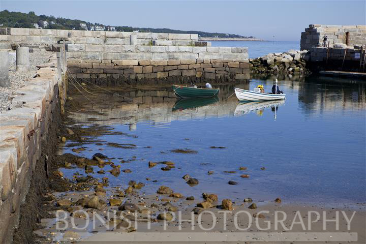 Lowtide, Seawall, Rockport, Boats, Bonish Photography