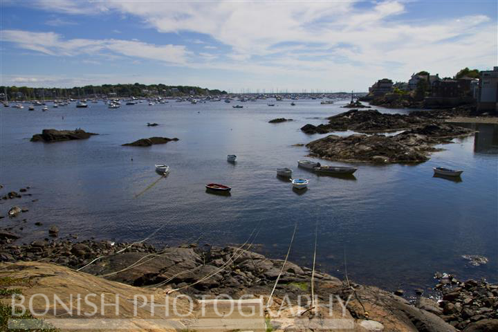 North East, Marblehead Harbor, Massachusetts, Boats, Bonish Photography