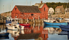 Motif #1, Rockport Harbor, Massachusetts, Fish House, Bonish Photo, Boats,
