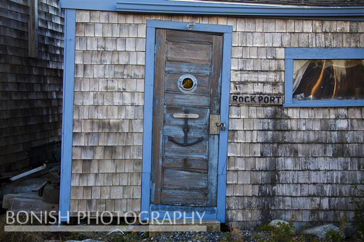 Rockport, Fish Shack, Anchor, Cedar Shake, Bonish Photo