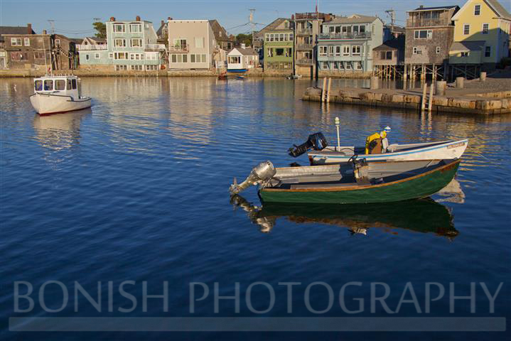 Rockport Harbor, Boats, Bonish Photography,
