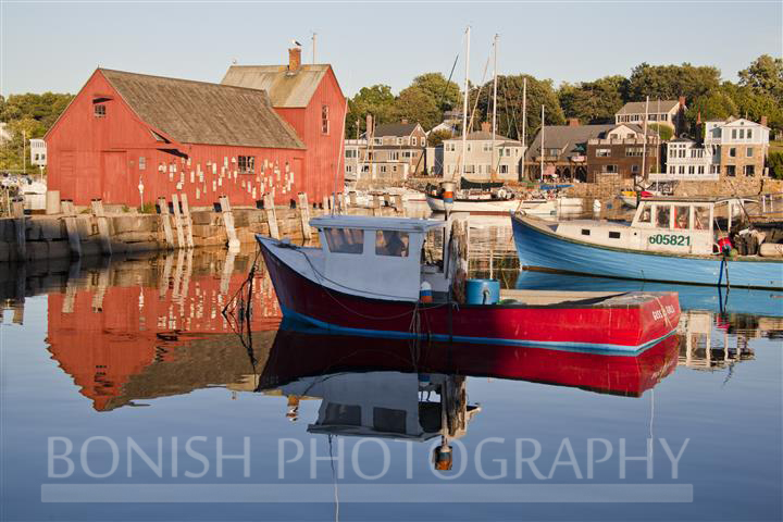 Rockport, Harbor, Lobster Boat, Motif #1, Bonish Photo