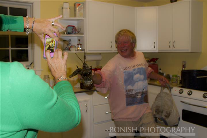 Lobster, Scott Dombrowski, Cindy Bonish, Maine, Goat Island, Bonish Photo