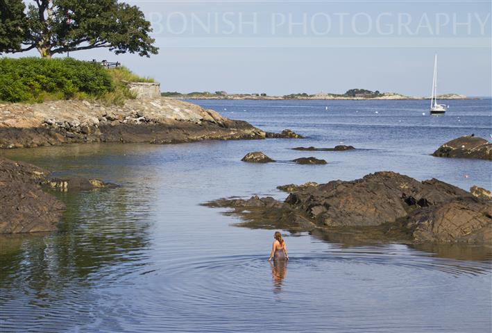 Swimming in Marblehead, Massachusetts, Bonish Photography
