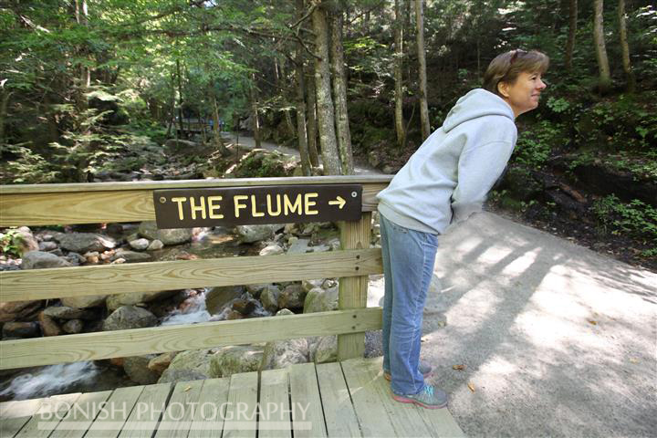Karen Dombrowski, The Flume, New Hampshire, Bonish Photo