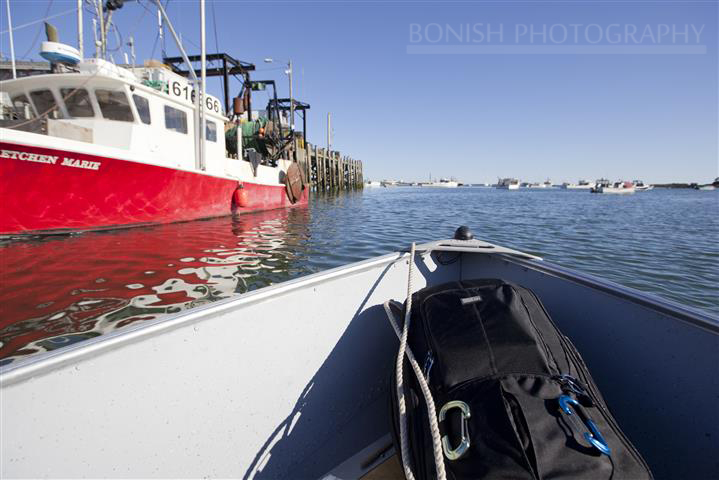 ThinkTank, Boat, Cape Porpoise, Maine, Bonish Photo