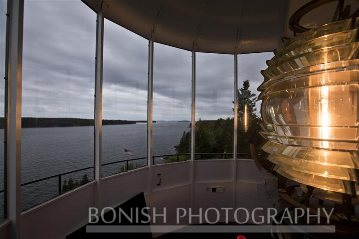 4th Order Fresnel Lens, Lighthouse, Owls Head, Maine, Bonish Photo