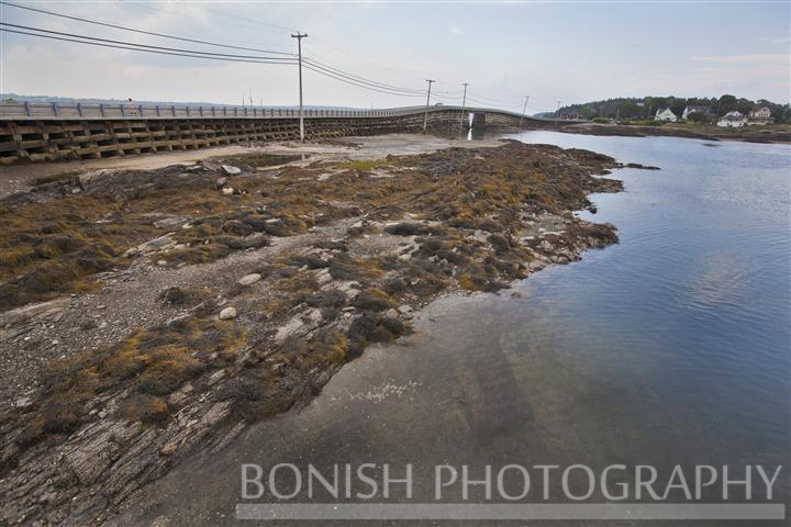 Cobb Work Bridge, Bailey Island, Maine, Bonish Photo,