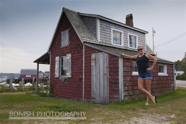 Cindy Bonish, Maine, Small House, Bonish Photo