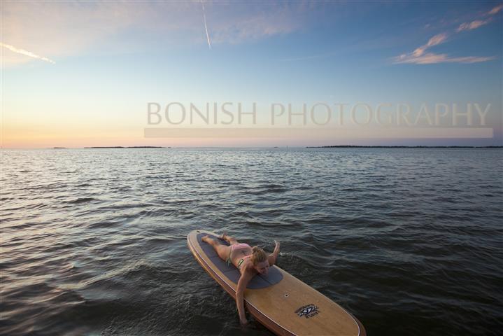 Paddle Board, Surf, Bonish Photo