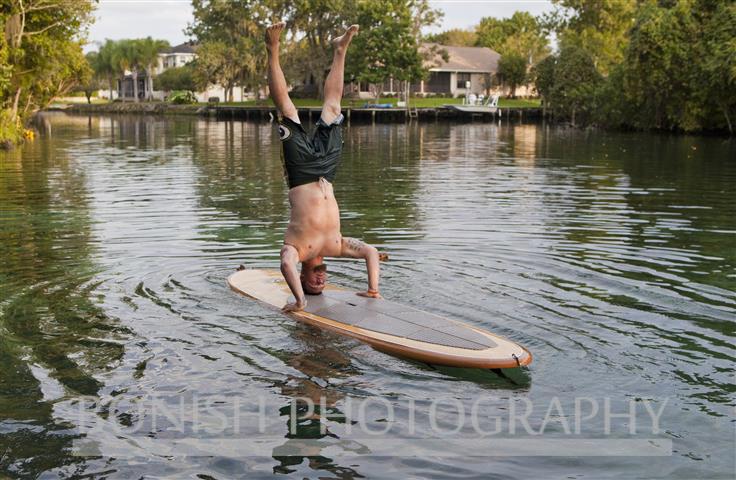 SUP Yoga, Nick Hegle, Bonish Photo, Paddle Board
