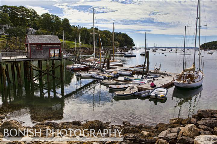 Maine, Rockport Harbor, Boats, Bonish Photo, Sailing, Safety