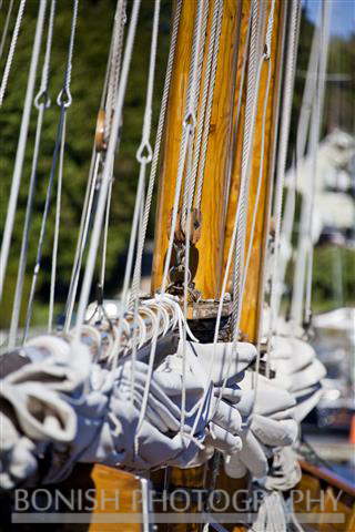Sailboat, Rigging, Bonish Photo, Nautical