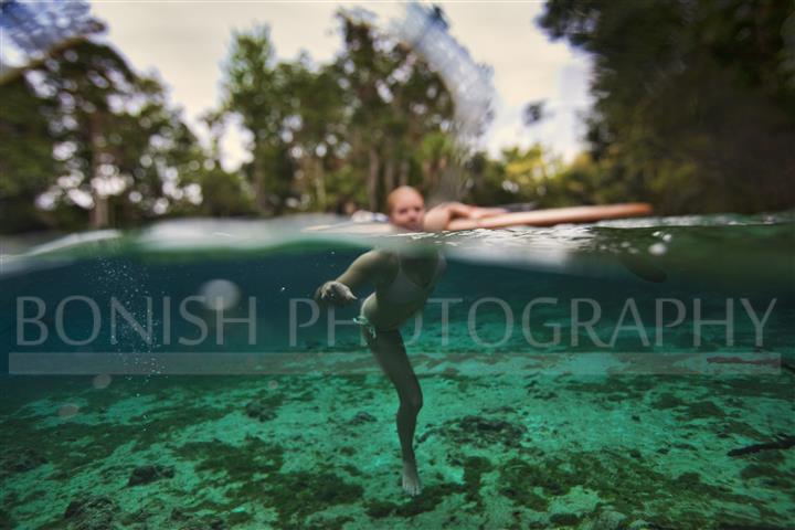 Splitshot, underwater Photography, Bonish Photo