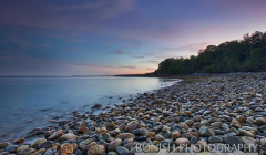 Sunset, Bonish Photo, Maine, Camden, Rocky Shoreline