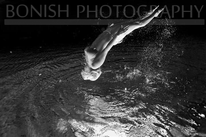 Kailey Hegle, B&W, Bonish Photo, Underwater Photography
