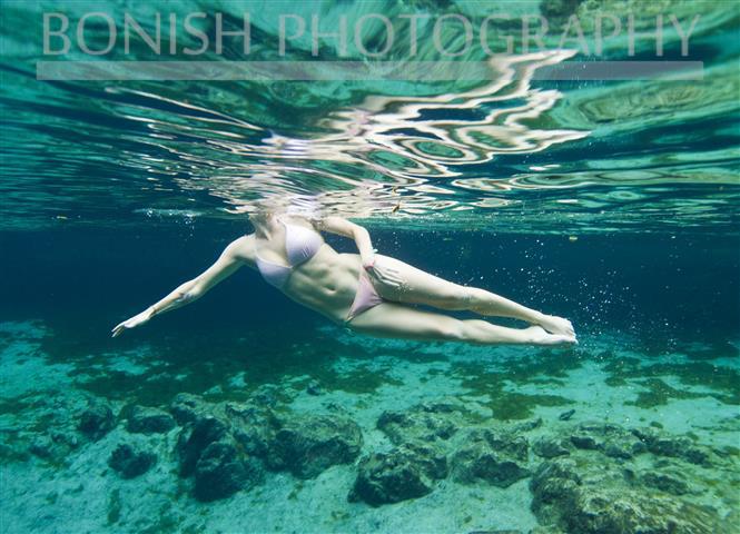 Kailey Hegle, Underwater Photography, Bonish Photo
