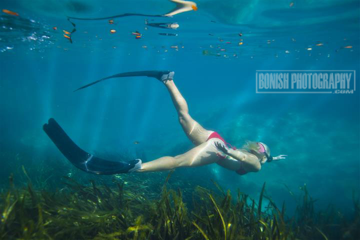 Bonish Photo, Amanda Gilbert, Juniper Springs, Underwater Photography