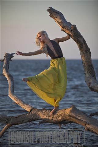 Modeling, Bonish Photography, Chelsey Korte, Cedar Key