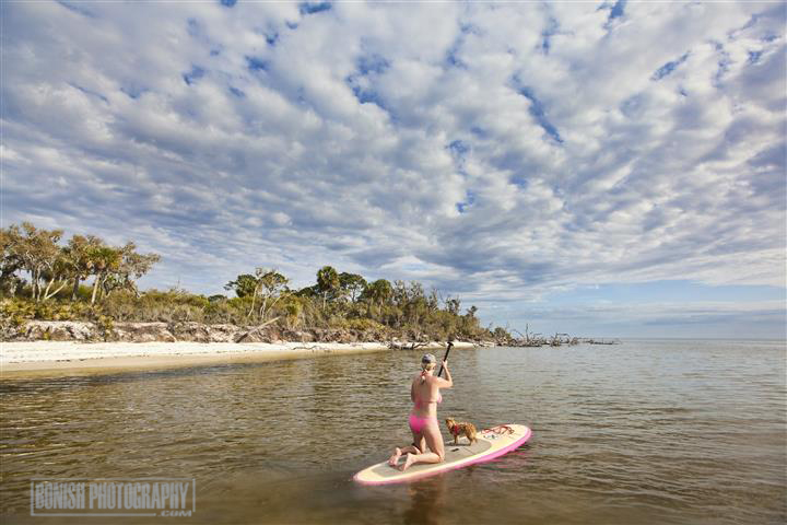 SUP, Stand Up Paddle Boarding, Bonish Photography, Bikini, Florida