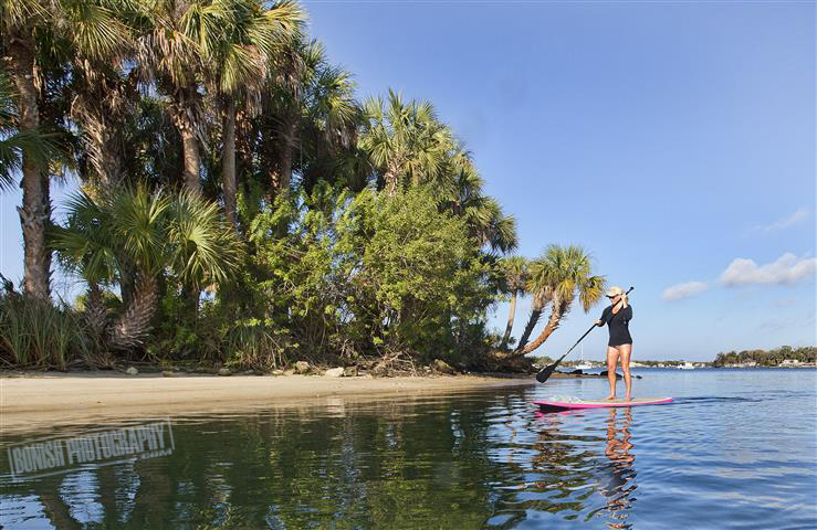 SUP, Cindy Bonish, Bikini, Paddling, Florida, Bonish Photo