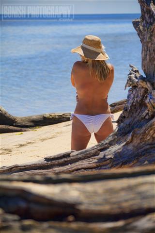 Beach Photography, Cedar Key, Topless, Bikini, Cindy Bonish