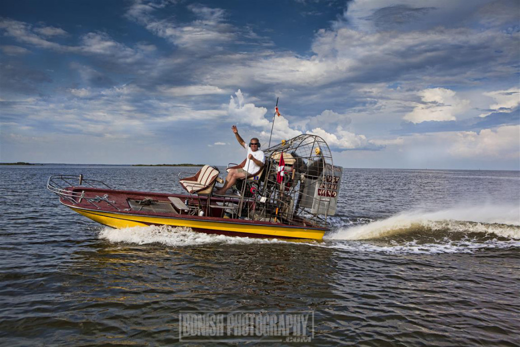 Airboat, Cedar Key, Bonish Photo
