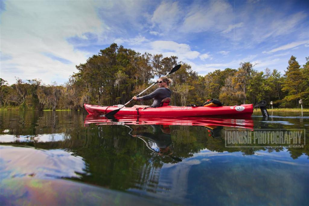 Paddling, Kayaking, Cindy Bonish, Bonish Photo, Rainbow River, Florida