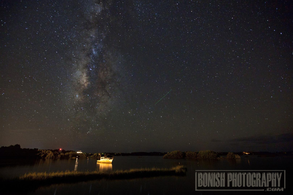 Milky Way, Cedar Key, Nighttime Photography, Bonish Photo, Every Miles A Memory, Travel
