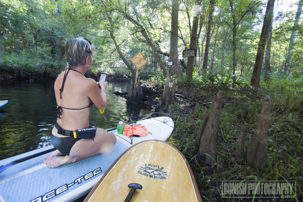 Naked Ed, Lily Springs, Stand Up Paddle Boarding, Paddle Boarding, Bonish Photo, Santa Fe River