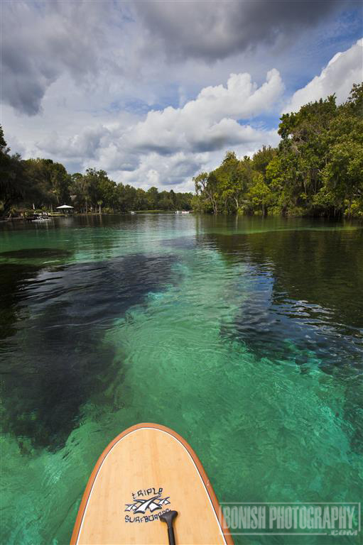 Rainbow River, Stand Up Paddleboarding, Bonish Photo, Florida, Every Miles A Memory