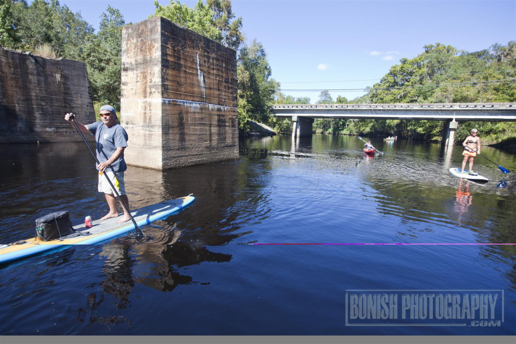 Santa Fe River, Stand Up Paddle Boarding, Every Miles A Memory, Travel,