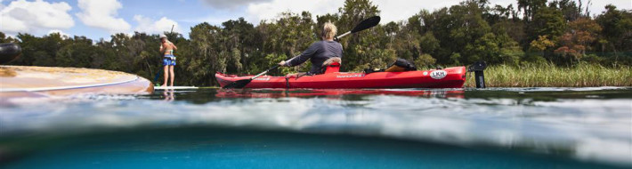 Rainbow River, Kayaking, Stand Up Paddleboarding, Bonish Photo, Underwater Photography, Every Miles A Memory