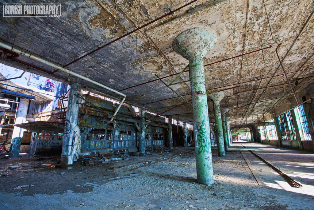 URBEX, Abandoned, Detroit, Bonish Photo, Every Miles A Memory, Fisher Body 21