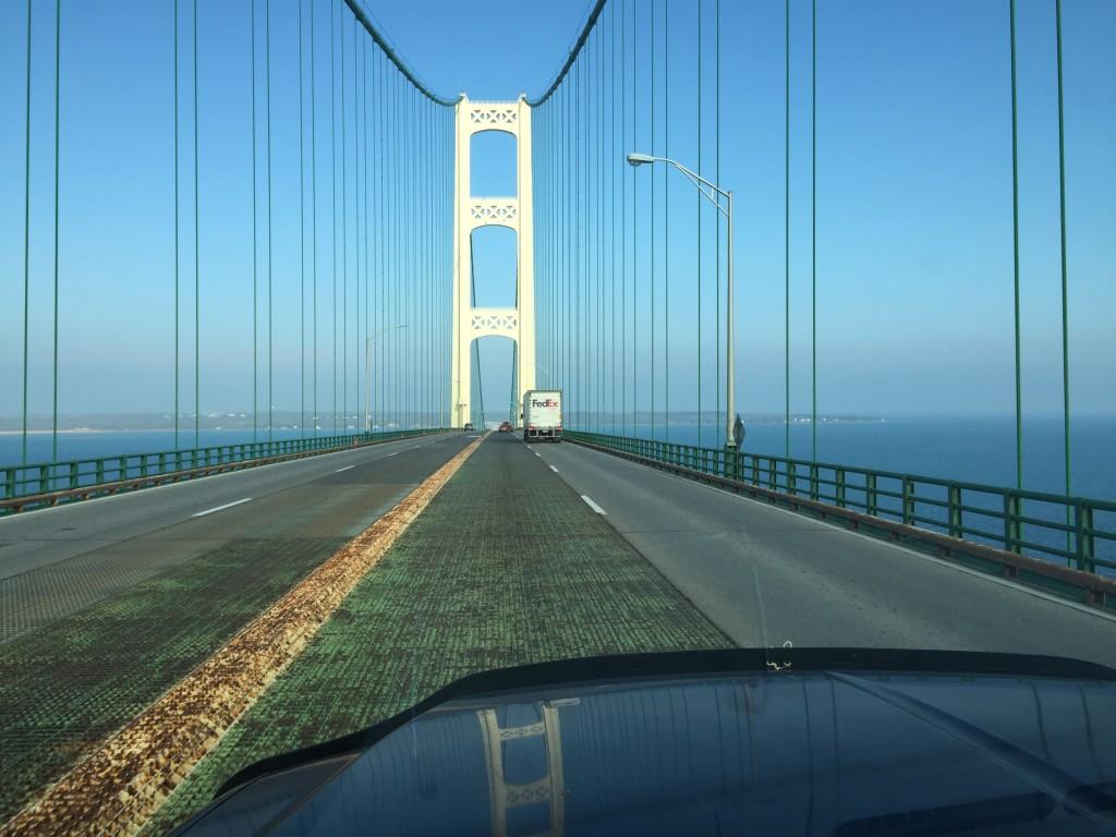 Mackinaw Bridge, Upper Peninsula, Michigan, Bonish Photo, Every Miles A Memory