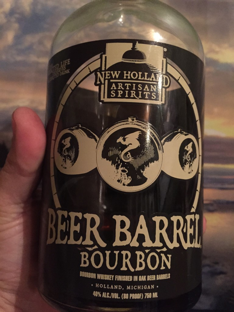 Beer Barrel Bourbon, Every Miles A Memory, Drinking