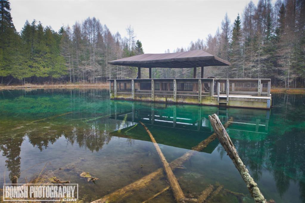 Kitch-iti-kipi Spring, Michigan, Big Spring, Bonish Photo, Every Miles A Memory, Upper Peninsula